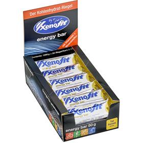 Xenofit Energy Bar Box (24 x 50 g), Banana